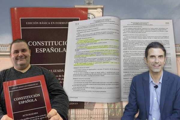OPINIÓN | Esteban Hernando, Director de Soyde., le manda al alcalde de Alcalá un ejemplar  de la Constitución Española para recordarle algunos puntos que parece tener olvidados