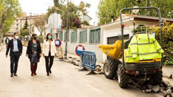 Los trabajos tienen un coste de 15.000 euros y está previsto que se finalice en dos semanas