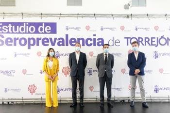 El Ayuntamiento de Torrejón de Ardoz presenta los resultados de los test de anticuerpos financiados con dinero municipal