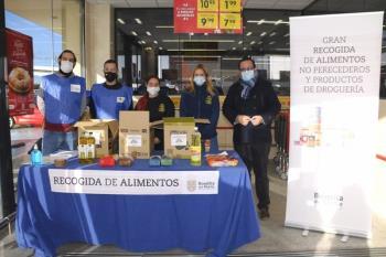 Alimentos no perecederos y productos de droguería serán distribuidos por Cáritas y Dignidad Boadilla