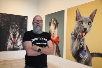 La historia de animales abandonados y adoptados contada a través de una exposición fotográfica