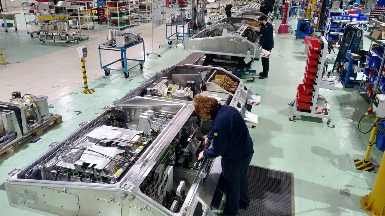 El centro, dedicado a la producción de trenes, empleará a 50 personas