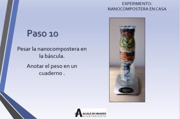 A través de este experimento se podrá comprobar cómo se produce el proceso de transformación de la materia orgánica en compost