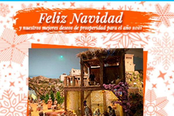 Desde el grupo municipal Ciudadanos de Majadahonda nos desean Feliz Navidad