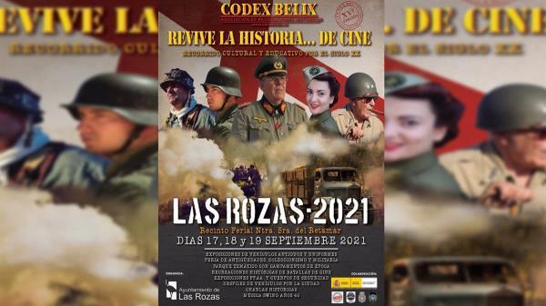 El Ayuntamiento de Las Rozas presenta: ¡Revive la historia... del cine! un evento internacional sobre recreación histórica militar y más