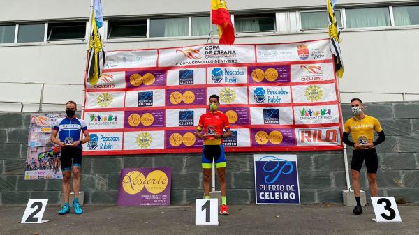 Nuestro ciclista se ha llevado el tercer puesto, colocando el nombre de Fuenlabrada a lo más alto