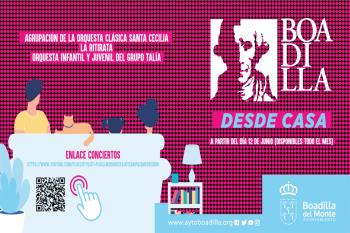 Hasta final de mes podrás disfrutar desde casa de los conciertos del festival de Boadilla