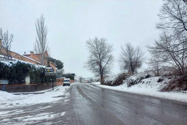 Filomena ataca, también, al deporte de Aranjuez