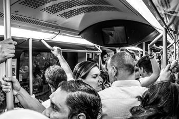 """""""Vamos a contratar a más de 300 nuevos maquinistas en Metro de Madrid"""", anunciaba Aguado"""
