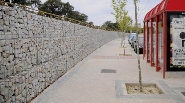 El ayuntamiento de Boadilla ha comunicado el fin de las obras de embellecimiento de una zona de Boadilla y ha publicado fotos