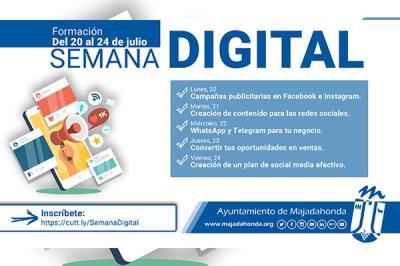 Lee toda la noticia 'Finaliza la Semana de la Digitalización'