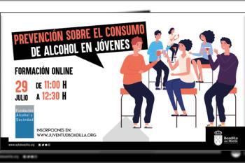 El Ayuntamiento de Boadilla del Monte forma a los jóvenes de 18 a 25 años sobre el alcohol