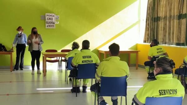 Formación para los trabajadores contratados a través del fondo COVID