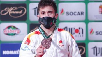 El judoka fuenlabreño ha logrado colocarse en el TOP 3 Mundial