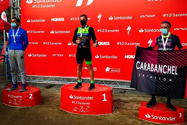 Francisco Domínguez Chacón, Campeón de Duatlón Corto de la Comunidad de Madrid