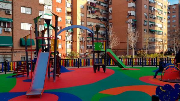 Los niños de Fuenla vuelven al parque