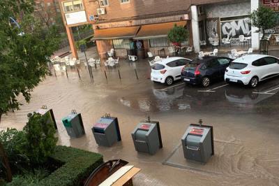 Lee toda la noticia 'Fuenlabrada recibe más de 160.000 euros para hacer frente a los daños causados por las lluvias'