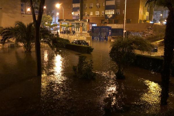 Las lluvias que cayeron durante el verano de 2019 provocaron inundaciones y daños en la ciudad