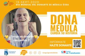 El Ayuntamiento apoya la campaña de donación de médula ósea