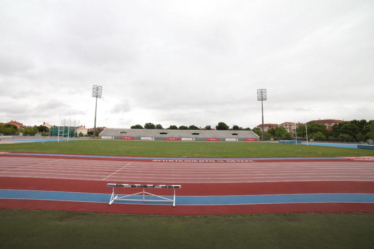 La Federación Española de Atletismo elige el polideportivo Juan de la Cierva de Getafe para celebrar la previa de los JJOO de Tokio.