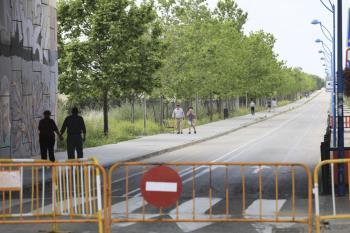 Calles peatonales y los parques de Castilla la Mancha y La Alhóndiga estarán desde las 19:00h del viernes a las 23:00h del domingo