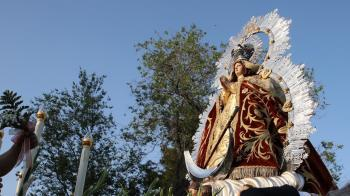 La Congregación de Nuestra Señora de los Ángeles organizó un triduo en honor a la Virgen