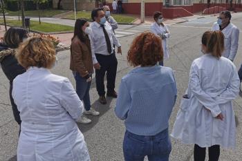 La concesión es en reconocimiento al esfuerzo que está haciendo el personal de todos los centros o servicios sanitarios de Getafe