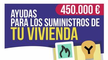 Las ayudas serán desde los 300 hasta los 500 euros