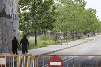 Algunos cortes de tráfico son a partir del viernes y otros, a partir del sábado, e incorporan a esta peatonalización; las calles Ramón y Cajal y General Palacio