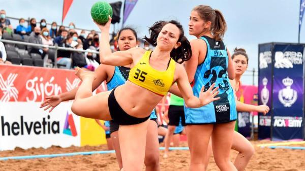 Getafe ha estado muy bien representada en el Campeonato de España de balonmano playa