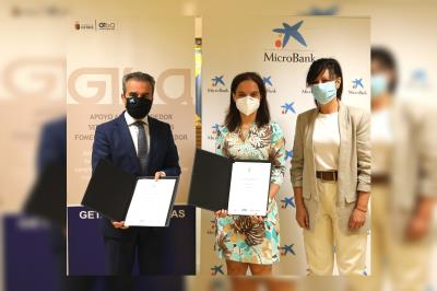 Lee toda la noticia 'GISA renueva el convenio con MicroBank '