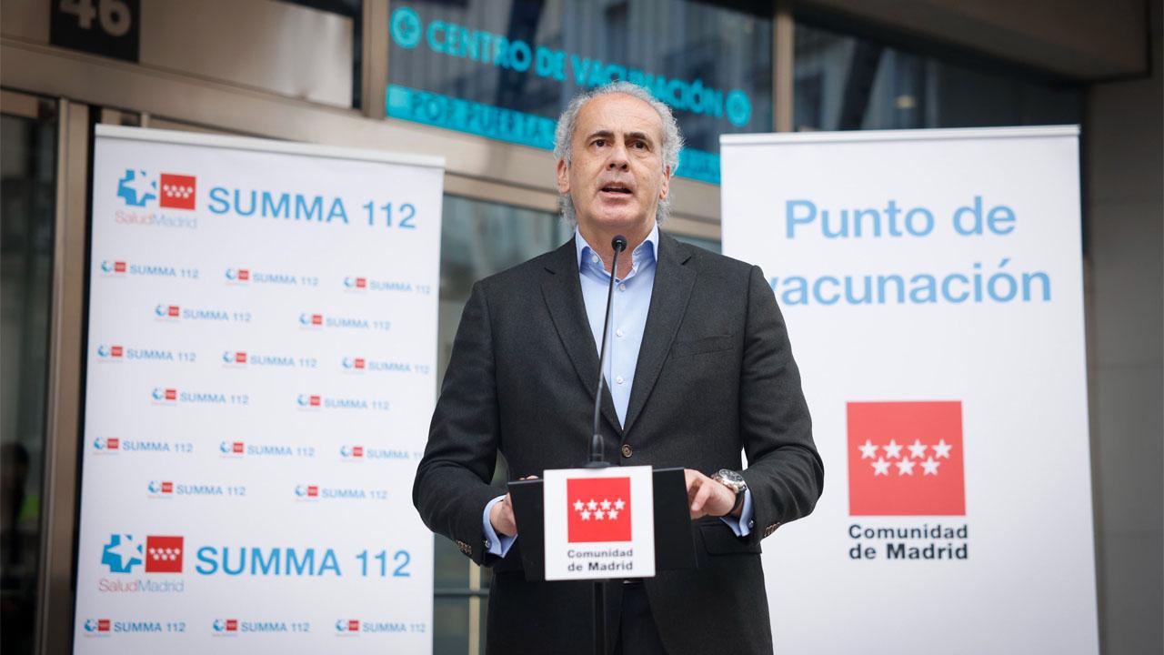 La gente no acude a su cita y la Comunidad de Madrid pide confianza hacia las vacunas