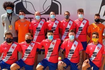 El equipo torrejonero representó al fútbol madrileño en el torneo celebrado en Nazaré