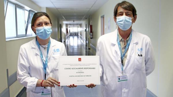 """El centro ha recibido el titulo de Centro Socialmente Responsable en la categoría de """"avanzado"""""""