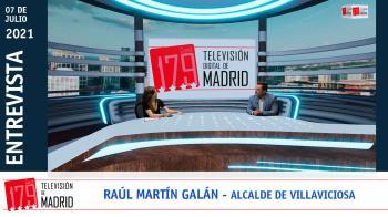 Recibimos al alcalde de Villaviciosa de Odón, Raúl Martín Galán, para hablar de las actuaciones que le esperan al municipio