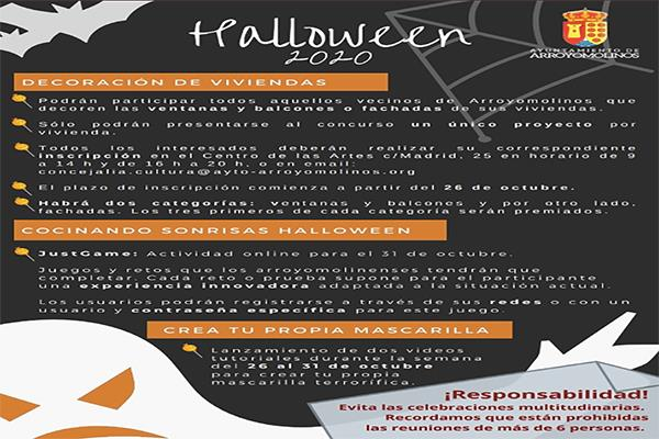 Halloween 2020 en Arroyomolinos