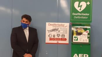El Consejero, David Pérez, ha inaugurado el último en Manoteras