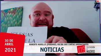 El portavoz de Podemos Humanes, Roberto Murillo, ha acudido a la Policía para denunciar los hechos