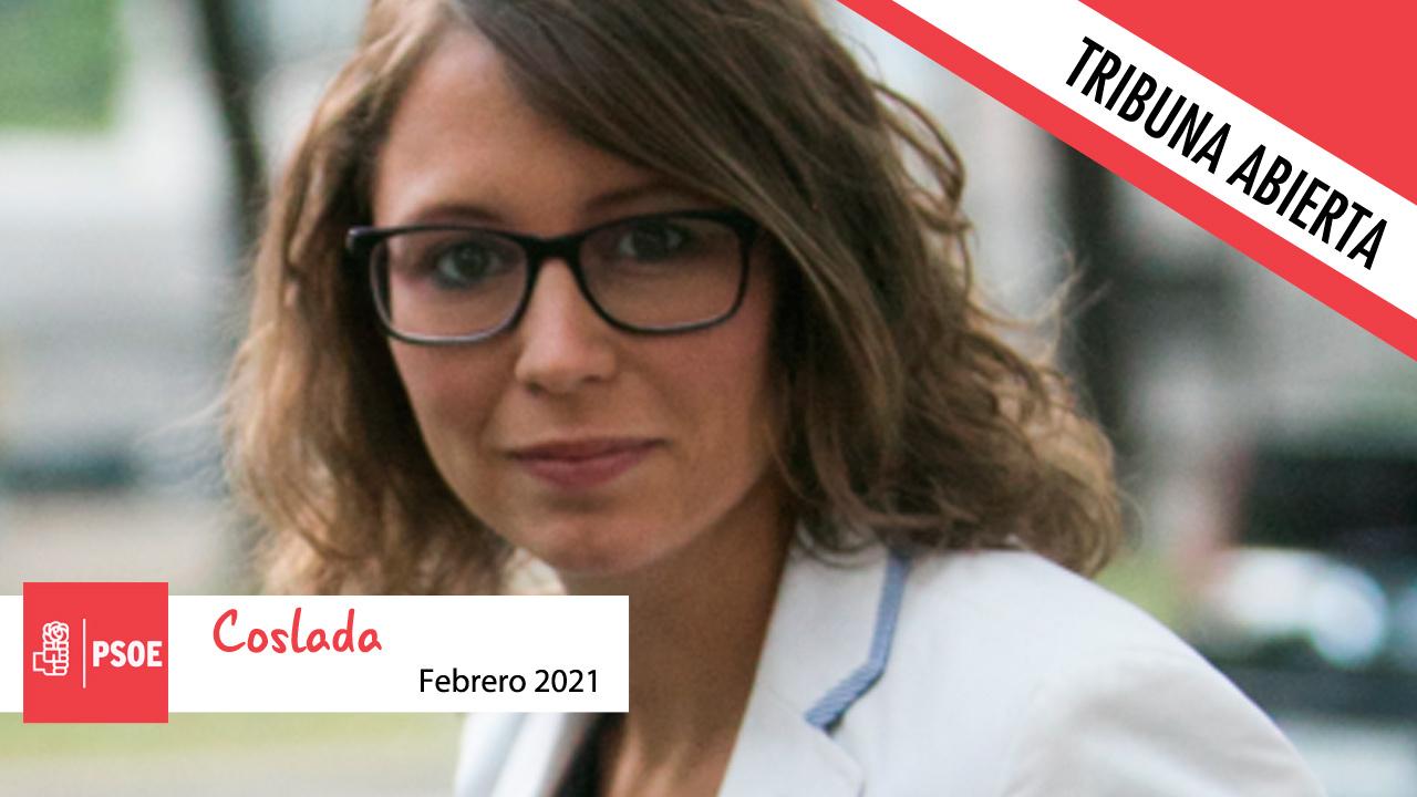 Opinión   Macarena Orosa,  Portavoz del PSOE Coslada, mira hacia el futuro más allá del COVID-19
