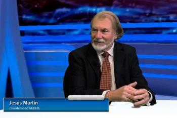 El presidente de la Asociación de Empresarios del Henares (AEDHE), Jesús Martín, plantea el futuro de las empresas del Corredor