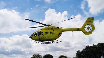 El varón de 32 años ha tenido que ser trasladado con un helicóptero