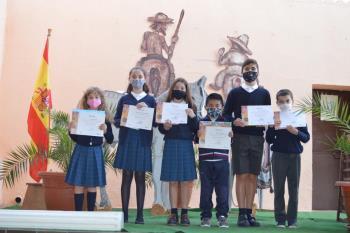 El Ayuntamiento de Alcalá homenajea a la Comunidad Educativa en la XXIV edición del Premio Cervantes Chico