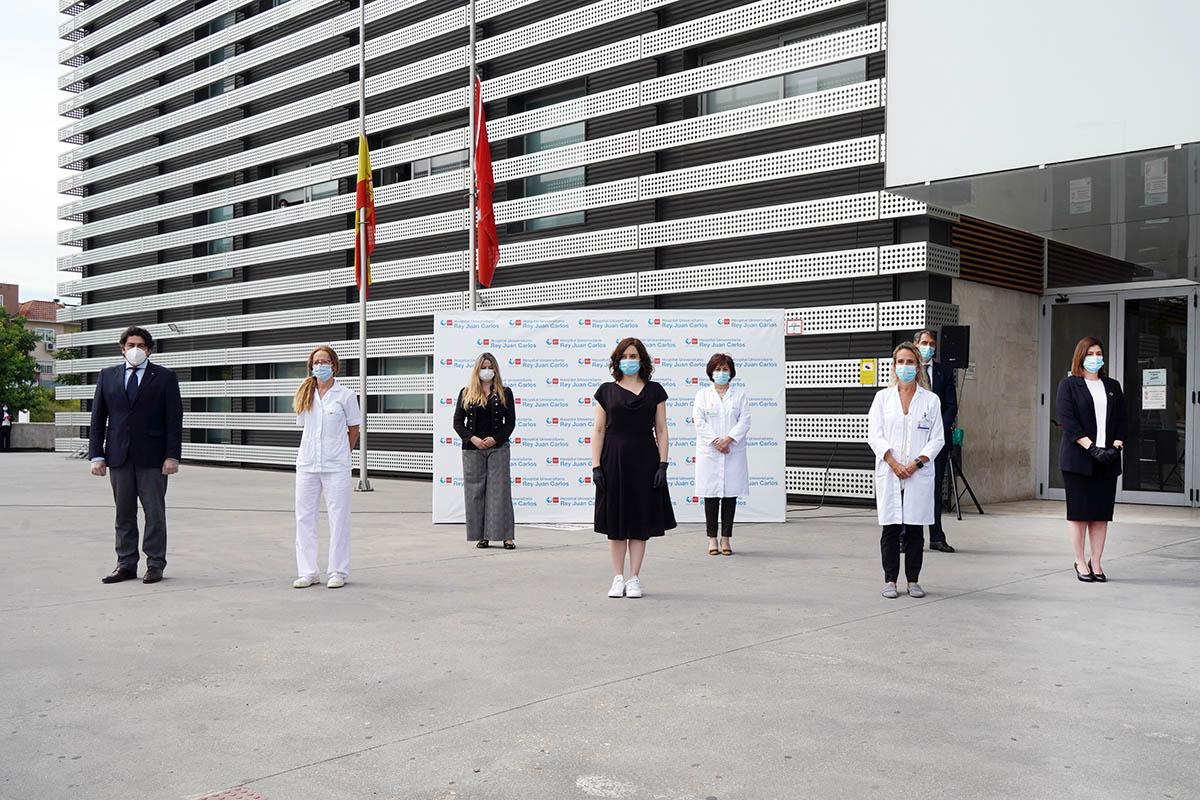 El acto ha contado con la presencia de la presidenta de la Comunidad de Madrid, Isabel Díaz Ayuso
