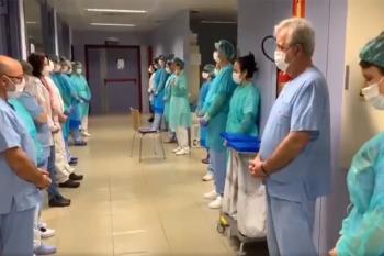 El equipo de Radiología de Alcorcón canta mantras de Yoga para elevar la vibración