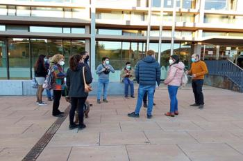 """El año pasado, en abril, se organizó una protesta contra las """"terapias para curar la homosexualidad"""" en Alcalá"""