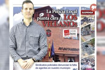 Hablamos con el Policía Local y secretario general del sindicato CPPM Humanes, José Rodríguez, sobre la falta de agentes en la plantilla