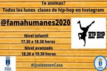 Las clases se impartirán todos los lunes en el canal @famahumanes2020