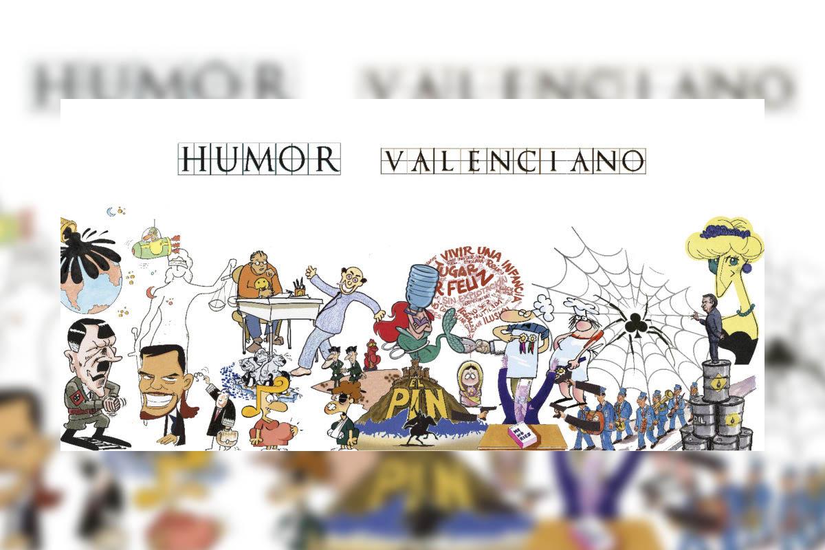 Un total de 17 humoristas gráficos de la Comunidad Valenciana presentan sus obras