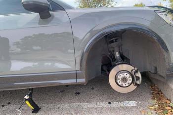 Los robos pasan por llevarse neumaticos, baterias o el vehiculo entero