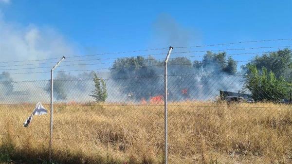 Los Bomberos de la Comunidad de Madrid realizaron la extinción del fuego